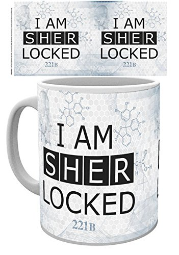GB eye, Sherlock, Sherlocked, Tazza