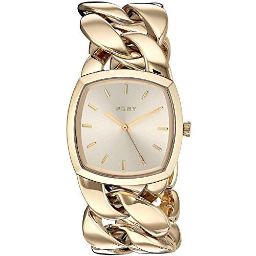 DKNY Damen-Armbanduhr NY2567 (Dkny Damen Uhren Leder)