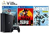 PlayStation Game of The Year Collector's Bundle: God of War, Red Dead Redemption 2, Fortnite 1000V-Bucks mit Frostbite Skin Set und PlayStation 4 4K HDR 1TB Konsole