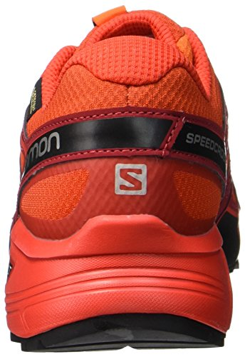 Salomon Herren Speedcross Vario 2 Gtx Traillaufschuhe Orange (ibis Scarlatto / Rosso Fuoco / Nero)