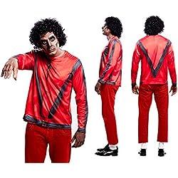 Yijja Fast Fun - Pop Star, camiseta de manga larga para adultos, talla L (Charm Kingdom YJ00018)