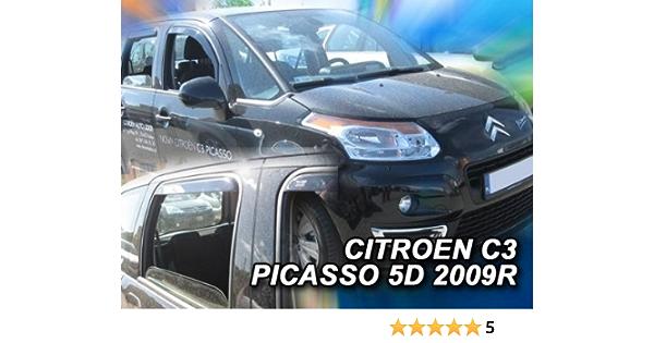 Heko Z905791 Windabweiser Regenabweiser Für C3 Picasso 09 Spacebox Für Vorne Und Hinten Auto