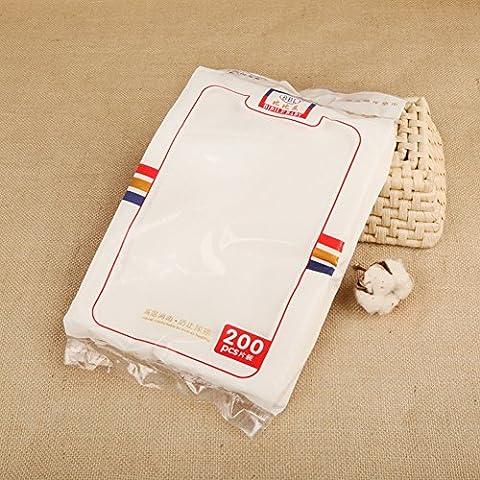 icekon Cuidado del bebé Desechable pañales de papel de almohadilla de orina 200 piezas