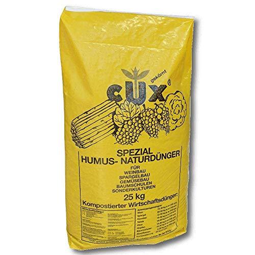 Cuxin Humuskorn pelletiert 25 kg Gartendünger Naturdünger Universaldünger Gemüse