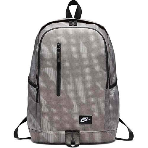 Nike Backpack, hombre, DARK Masilla Black White, misc