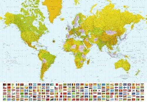 1art1-papier-peint-poster-representant-une-cartographie-complete-du-monde-avec-drapeaux-des-pays-368