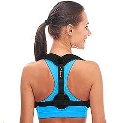 Geradehalter zur Haltungskorrektur - Körperhaltung Korrektor Damen - Haltungskorrektur Rücken Damen und Männer