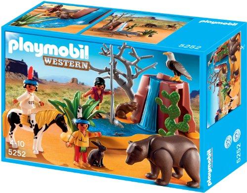 Playmobil - Niños Indios con Animales