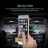 Mpow Porta Cellulare Universale da Auto per CD Slot con la Primavera del Titolare, 360 ° di Rotazione per iPhone 7 6 6S 5 5S, iPod Touch, Samsung Galaxy S3 S4, LG G3, Nexus4 / 5, HTC, Motorola, Sony e GPS Dispositivi
