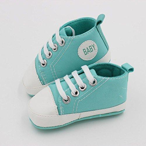 MiyaSudy Kleinkind Babyschuhe Baby jungen Mädchen Weiche Sohle Anti-Rutsch Causal Sneaker Schuhe Grün