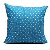 "Vovotrade Wave Cotton PillowCases Leinen Sofa Kissenbezug Home Decor (18 ""x18"") (Blau)"