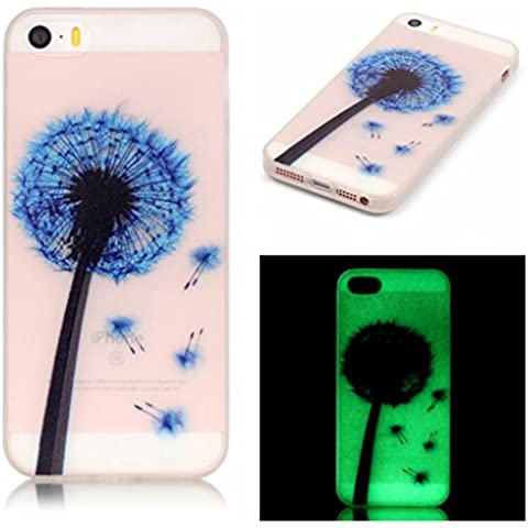 Case Cover For Apple iPhone 5 5S SE,Remidy Blu dente
