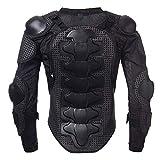 KKmoon Giacche da Moto, Armatura di Giubbotto da Motociclista per Tutto Il Corpo, Protezione Toracica per Spalla, S