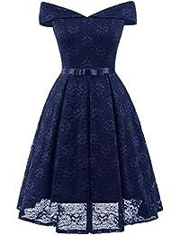 95bcced5fa519 Vestidos Verano Mujer Elegante Retro Moda Vestido Rockabilly Fiesta para  Bodas Noche 1950S Vestir Años 50