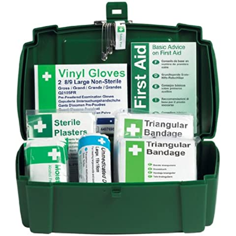 Safety First Aid K308 - Kit de primeros auxilios para 1 persona