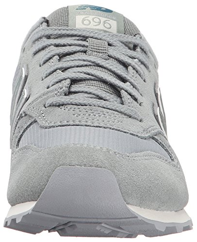 New Balance Women's 696 Clean Composite Pack Lifestyle Sneaker Seed/Silver Mink