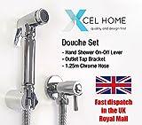 XCEL hometm chrom Bidet für muslimische Douche Set Dusche Head WC-Spray Head Messing Hygiene