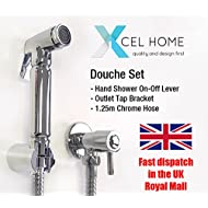 XCEL hometm chrom Bidet für muslimische Douche Set Dusche Head WC-Spray Head Messing Hygiene