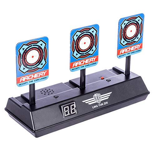 LoKauf Obiettivo di tiro Elettrico di Reset Automatico Bersaglio Elettronico Target per Nerf Blaster
