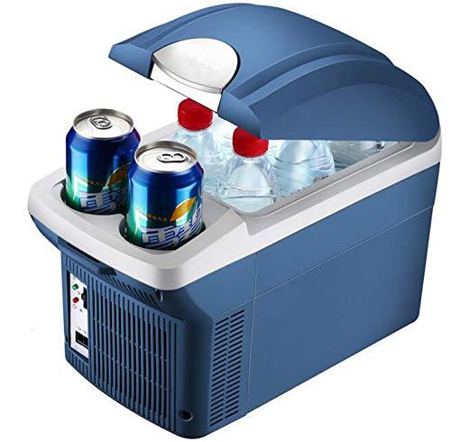 SSLL 8 Liter Kompressor-KüHlbox Mini KüHlschrank Gefrierschrank Elektrische KüHlbox Gefrierbox Tragbare Auto Absorber-KüHlbox FüR Auto Zuhause BüRo Picknick Im Freien
