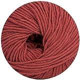 50 gr. Cora Fb. 520 passion, Brandneu, Strickwolle, Merinowolle, Online, Linie 20