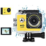 Phankey Kids Digital Camera, Waterproof Camera For Kids Toy For Boy Girls Holiday Birthday Gift With 2.0 Inch LCD Display And 8GB SD Card