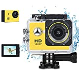 Phankey Kids Digital Camera, Waterproof Camera for Kids Toy for Boy Girls Holiday