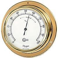 Barigo Hygrometer Modell Tempo messing