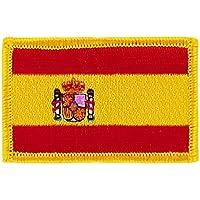 Patch écusson brodé drapeau espagne espagnol flag thermocollant blason insigne