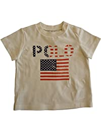 0638c71869bd1 Ralph Lauren Genuine Baby Boys Flag Logo Cotton Crew Neck T Shirt 6-9 mth