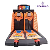 #4: STARILLO Indoor Basketball Shoot Game ( Indoor Stress Relief Game Toy for Adults & Children)