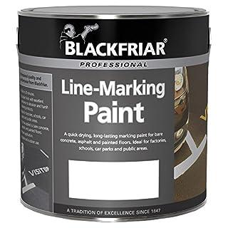 Blackfriar Road Line Marking Paint White - 2.5 Litre