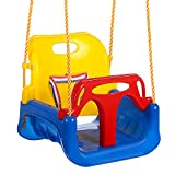 Ancheer 3-in-1 Sitzschaukel für Kleinkinder, Kinder und Jugendliche abnehmbare aufhängende Sitz Outdoor