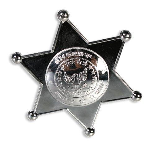iffsterne - 8 Stück im Set (County Sheriff Kostüm)