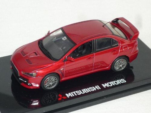 Vitesse Mitsubishi Lancer Limousine Rot Evo Evolution X 10 Mit Heckspoiler Ab 2007 8. Generation Cyo 1/43 Modell Auto Modellauto (Lancer Evolution 10)