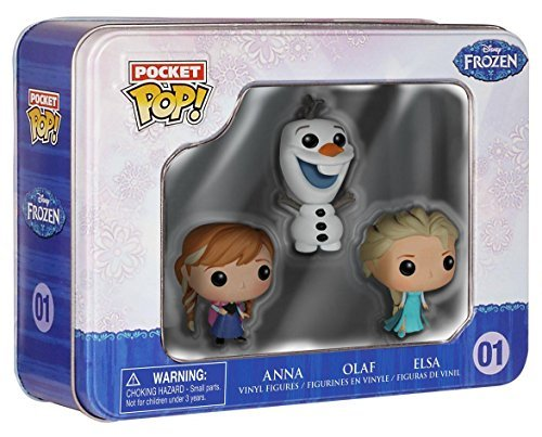 Preisvergleich Produktbild Funko POCKET POP! Tin Set - Disney Frozen