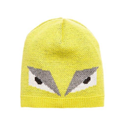 Fendi Mini Me Monster Jacquard knit wool hat (Mini Fendi)
