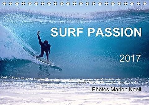 SURF PASSION 2017 Photos von Marion Koell (Tischkalender 2017 DIN A5 quer): Surf Photos voller Stimmung in Europa (Monatskalender, 14 Seiten ) (CALVENDO Sport)
