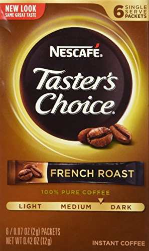 tasters-choice-instant-coffee-french-roast-6-packets-007-oz-2-g-each