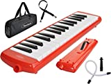 Steinbach Melodica Rouge 32 Boutons Incl. Monotube