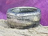 Coinring,Himmelsscheibe von Nebra, Münzring Himmelsscheibe von Nebra, Silber 925er, verschiedene Grössen, Handgeschmiedetes unikat