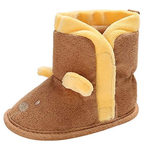 Liuchehd-scarpe scarpine neonato, bambino - scarpette neonato caldo e velluto - scarpe primi passi - scarpe