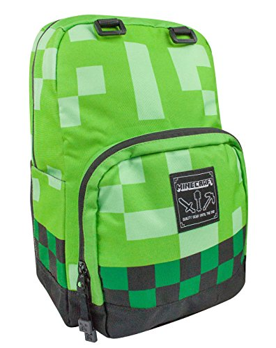 Close Up Minecraft Creeper Backpack Rucksack 17