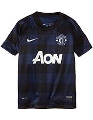 Nike  Manchester United Away Replica - Camiseta de equipación de fútbol para niño, color azul, talla XS
