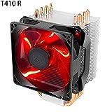 """CplaplI CPU Cooler, 4.72"""" x 4.72"""" x 0.98"""" Silent 4 Heatpipes CPU Air Cooler Temperature Control 120mm PWM Ventilador de refrigeración"""