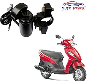 Auto Pearl - Premium Quality Motor Bike Usb Mobile Charger For - Suzuki Lets