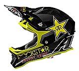 Airoh BMX Helm Fighters Casco para motociclista, color Negro (Rockstar), talla 56-S