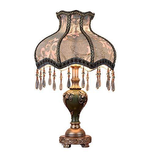 LL-Enyoyy Tischlampe im europäischen Stil, kreative Retro-Schlafzimmer-Nachttischlampe, Hotel-Wohnzimmer-Hochzeitslichter