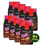 Melitta Mein Café DARK Roast, Kaffeebohnen, 8x 1000g (8000g) - Kaffee mit feiner fruchtiger Note!