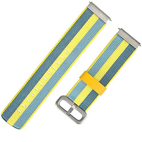 SHUNYUS Armband Armband Armband Armband Smart Watch Zubehör Zubehör Leinwand Webart Langlebig Für Für Huami Amazfit